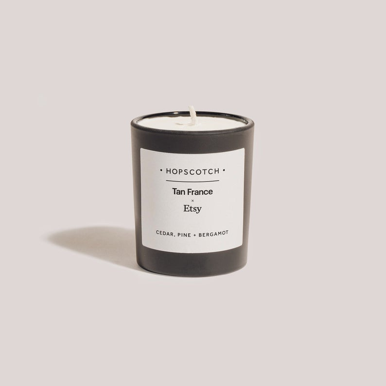 Hopscotch London Tan France x Etsy Scented Candle
