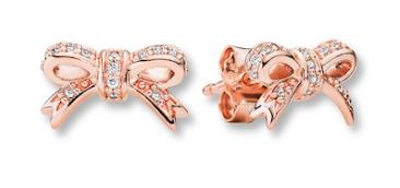 Pandora Rose Earrings Sparkling Bow
