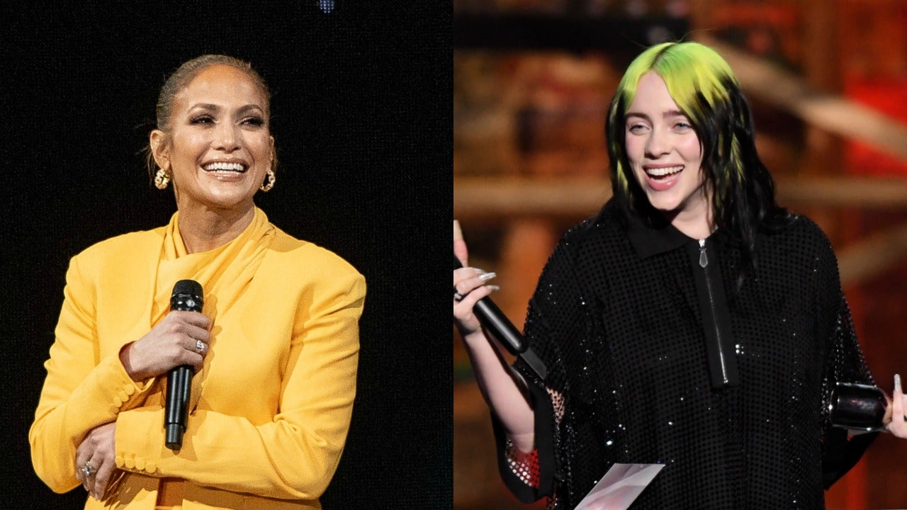 Jennifer Lopez and Billie Eilish