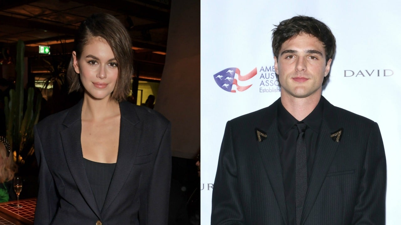 Kaia Gerber And Jacob Elordi Are Super Happy Together Source Says Entertainment Tonight