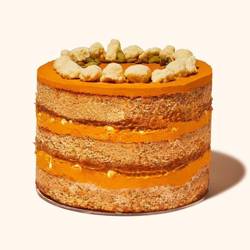 Milk Bar Pumpkin Dulce de Leche Cake