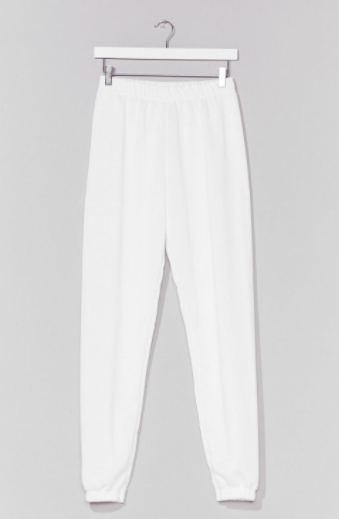 Nasty Gal Jog the Limelight Stretch Joggers