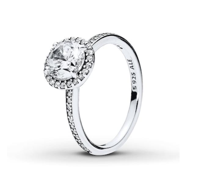Pandora Classic Elegance Sterling Silver Ring