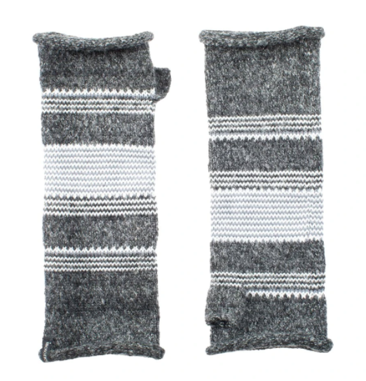 Isotoner Women's Recycled Knit Fingerless Arm Warmers