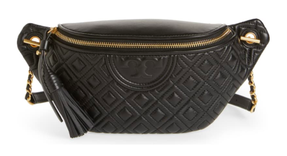 Tory Burch Fleming Quilted Leather Belt Bag