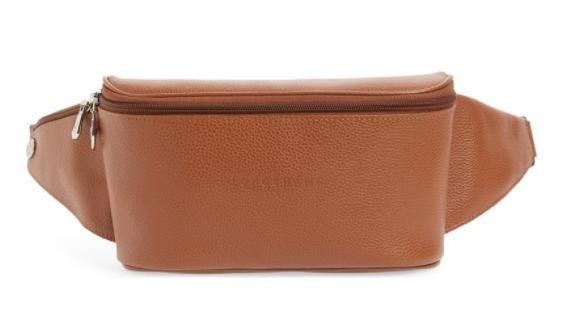 Longchamp Le Foulonné Leather Belt Bag