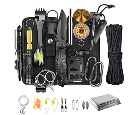 Levory J 30-in-1 Survival Gear and Equipment