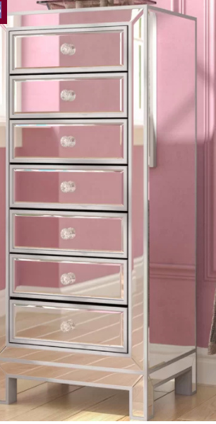 Joss & Main Dave 7 Drawer Lingerie Chest