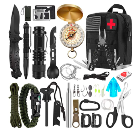 32-in-1 Survival Gear and Equipment