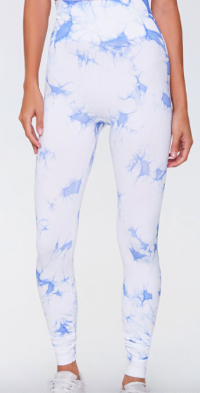 Forever 21 Active Tie-Dye Leggings