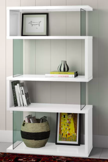 Pierre Geometric Bookcase