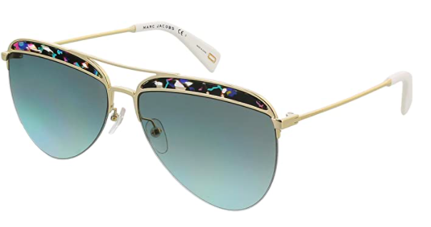 Marc Jacobs Top Frame Aviator Sunglasses