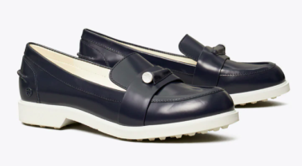 Tory Burch Pocket-Tee Golf Loafer
