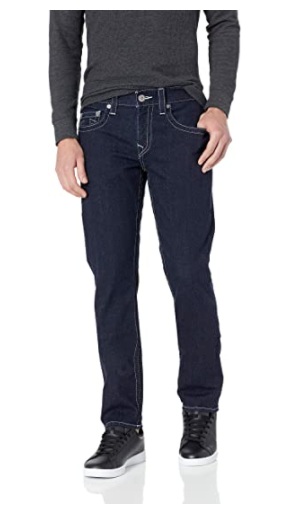 Geno Slim Fit Straight Leg Jean