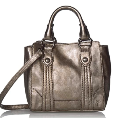 Frye Melissa Mini Leather Crossbody Tote Bag