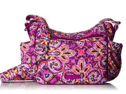 Vera Bradley Signature Cotton On the Go Crossbody Purse
