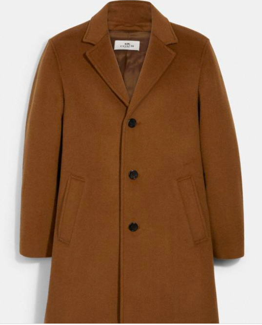 Coach Wool Top Coat