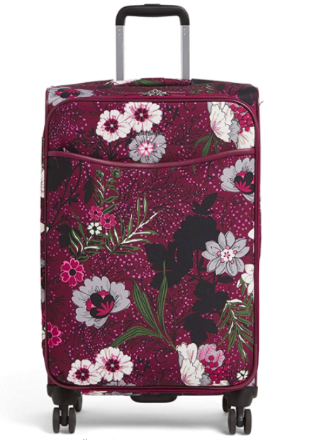 "Vera Bradley 27"" Softside Rolling Suitcase Luggage"