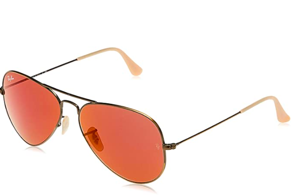 Ray-Ban Rb3025 Classic Mirrored Pilot Sunglasses