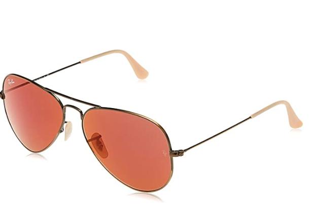 Ray-Ban Rb3025 Classic Mirrored Pilot Sunglasses