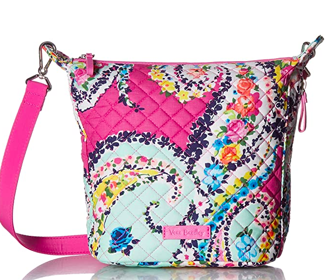 Vera Bradley Signature Cotton Carson Mini Hobo Crossbody Purse