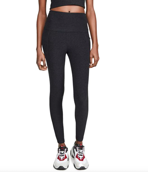 Beyond Yoga Spacedye Out of Pocket High Waisted Midi Leggings