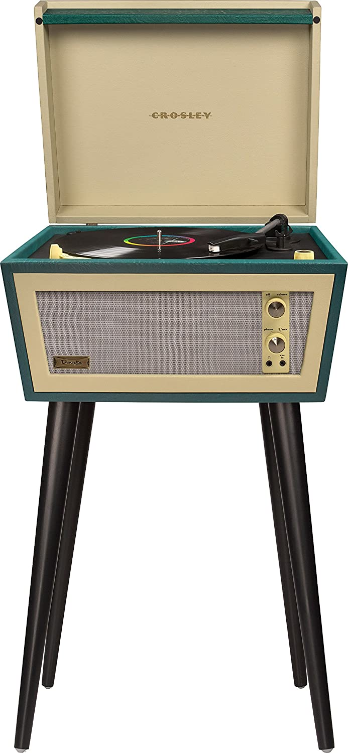 Crosley CR6231D-GR Sterling Portable Turntable