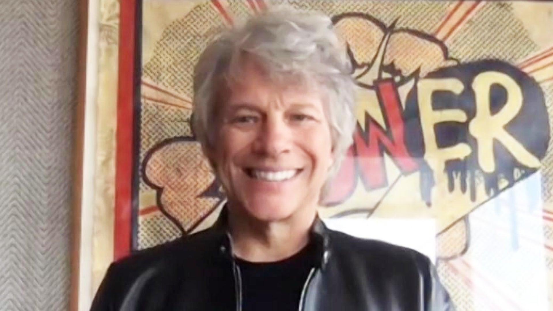 Jon Bon Jovi On His Musical Milestones And Inspiring Hope With New Music Exclusive Entertainment Tonight