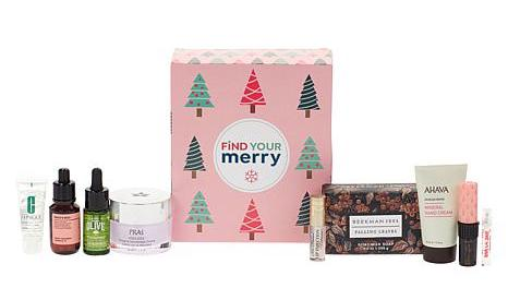 HSN Very Merry Beauty Sample Box