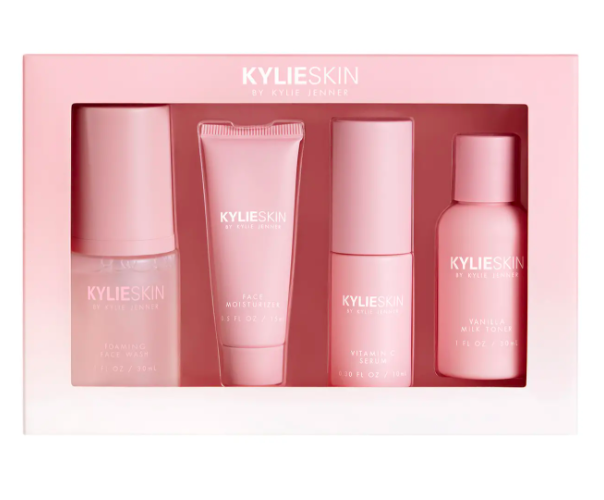 Kylie Skin 4-Piece Mini Skincare Set