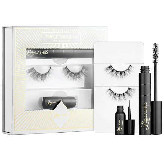 Lilly Lashes Triple the Glam Eyelash Kit