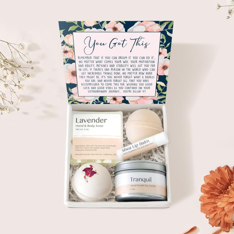 DearAvaGifts Motivational Gift Box
