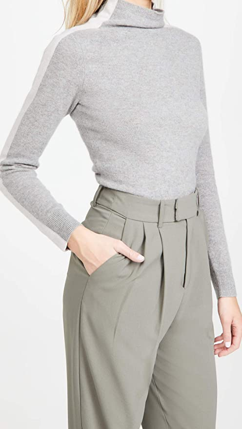 Naadam Women's Funnel Neck Cashmere Pullover