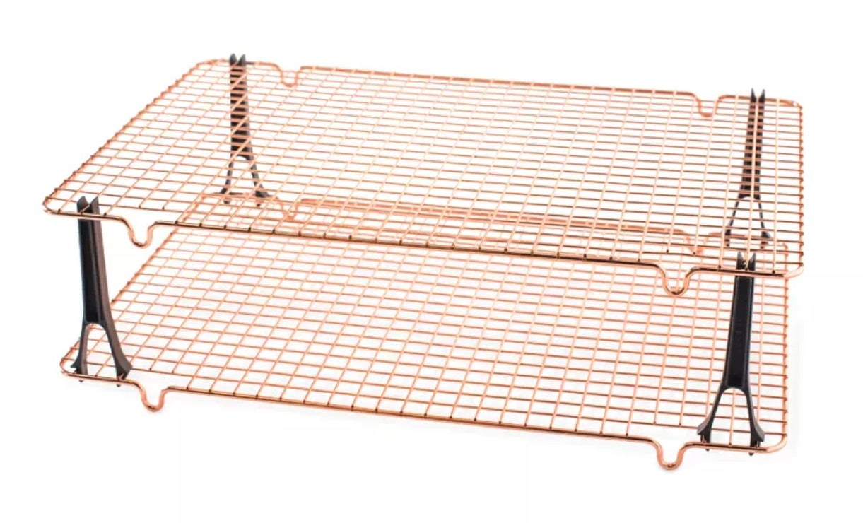 Nordic Ware Stackable Nonstick Cooling Rack Set