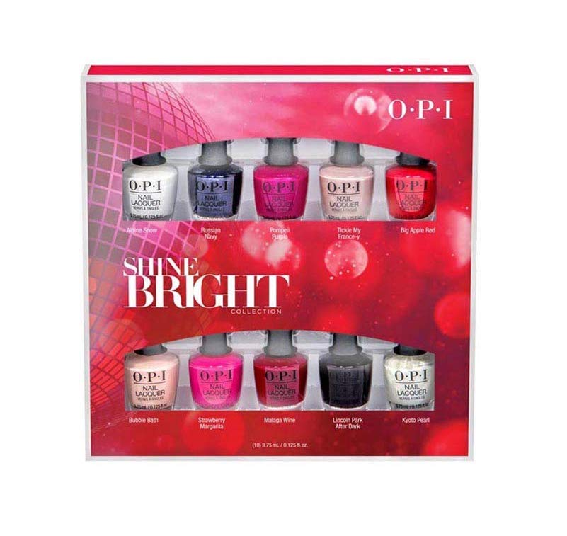 OPI Holiday 2020 Shine Bright Collection, Nail Lacquer Nail Polish