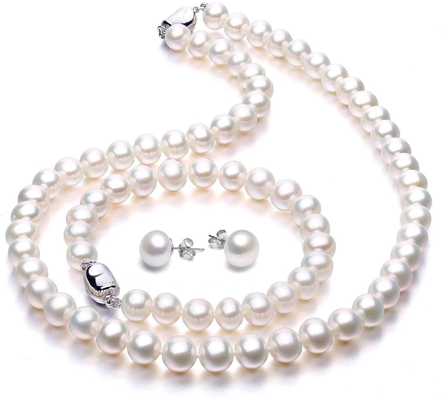 VIKI LYNN Freshwater Cultured Pearl Necklace Set