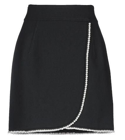 Sandro Pearl Mini Skirt