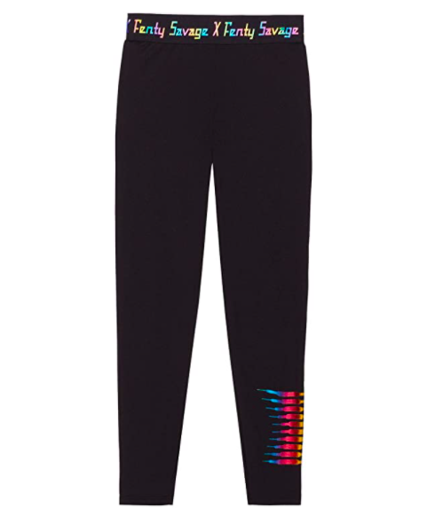 Forever Savage Legging with Rainbow Logo