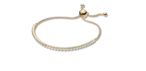 """PANDORA Shine 9.8"""" Bracelet Sparkling Strand"""