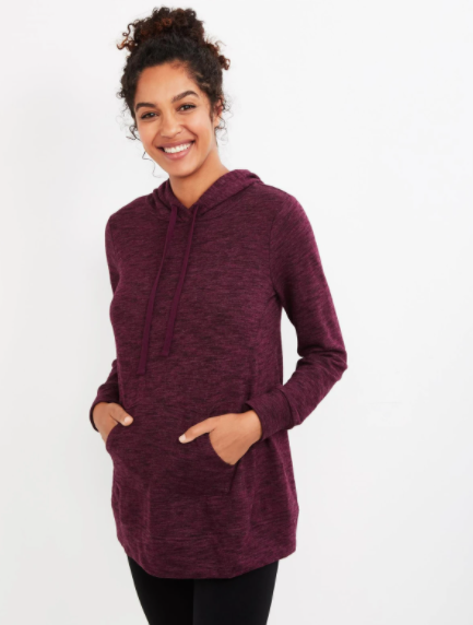 Motherhood Maternity French Terry Maternity Hoodie