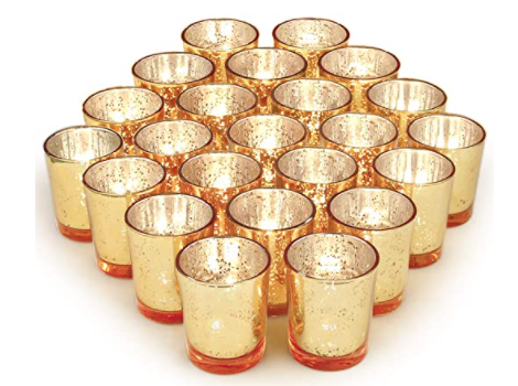 Volens Gold Votive Candle Holders Set of 72