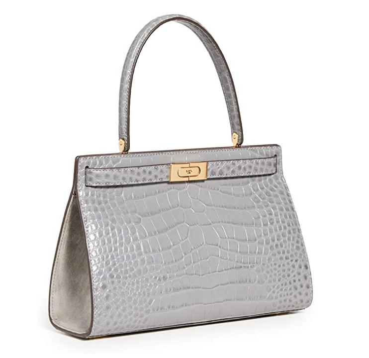 Tory Burch Women's Lee Radziwill Embossed Small Bag