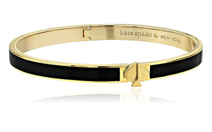 Kate Spade New York Women's Heritage Spade Thin Enamel Bangle Bracelet