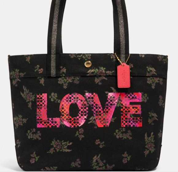 Coach Tote With Jason Naylor Graphic