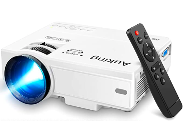 AuKing Mini Projector 2020