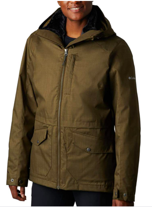 Columbia Women's Mount Erie Interchange Winter Jacket