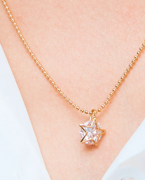 Kate Spade New York Something Sparkly Star Mini Pendant