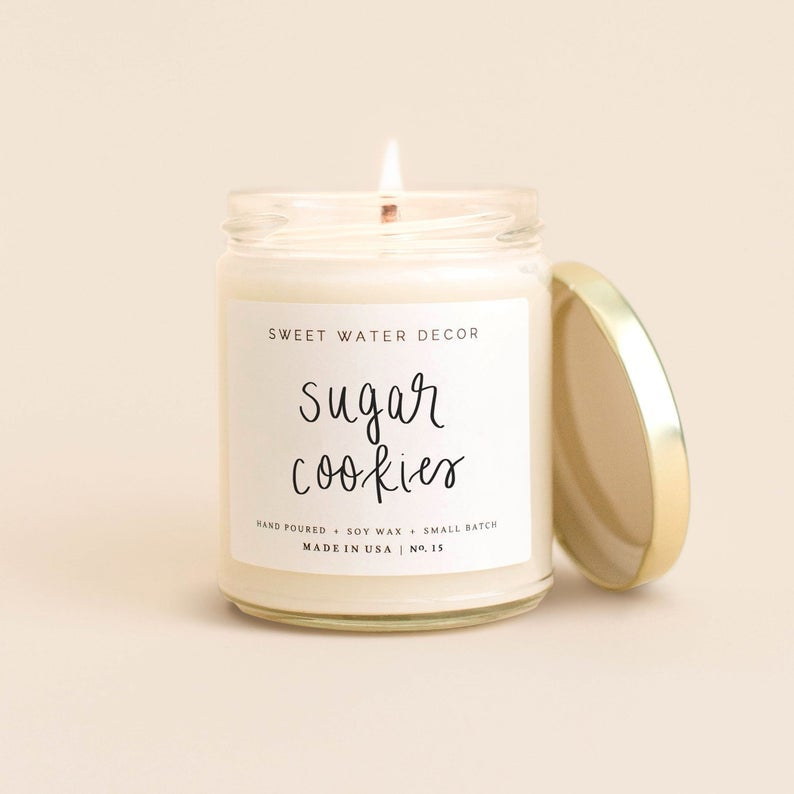 Sweet Water Decor Sugar Cookies Candle