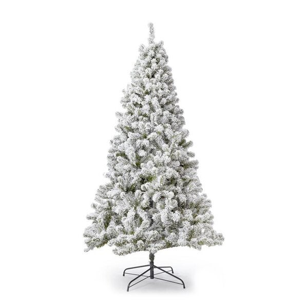 The Holiday Aisle Patagonia Flocked Artificial Christmas Tree