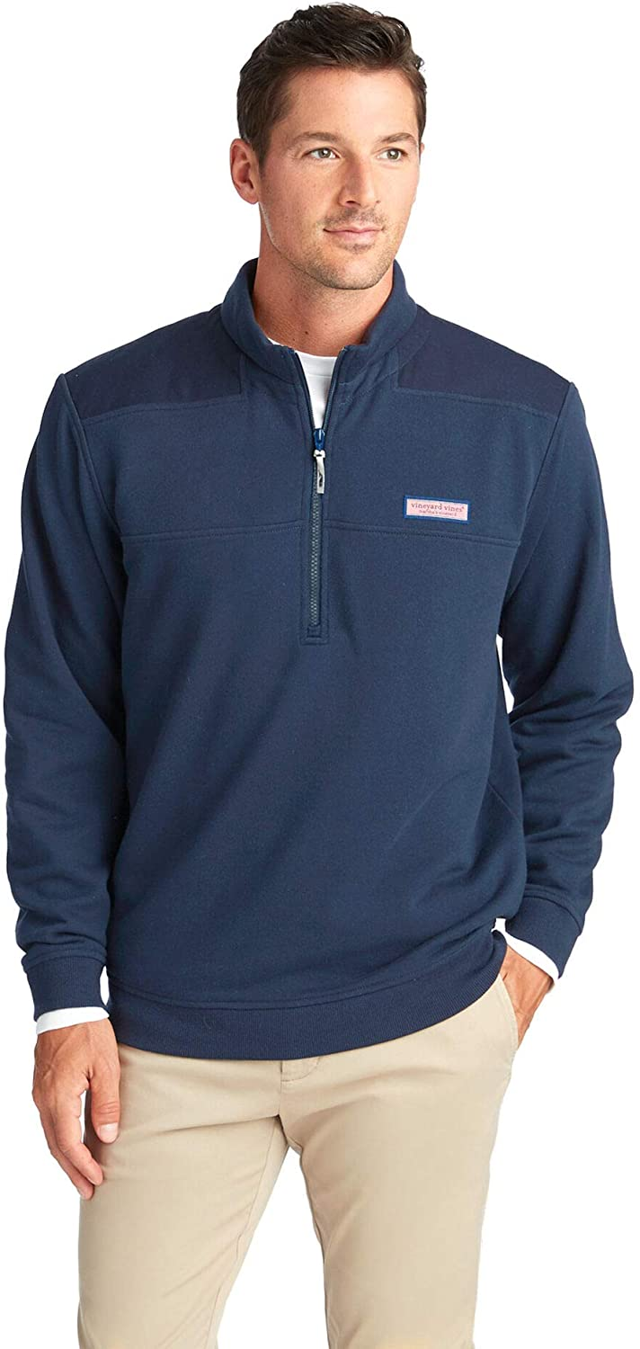 Vineyard Vines Men's Collegiate Shep Shirt Half Zip Pullover